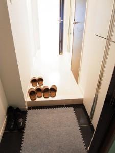 九段フラワーマンション 玄関