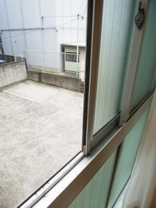 九段フラワーマンション キッチン眺望