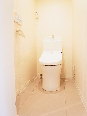 ライオンズマンション鉄砲洲第3 トイレ