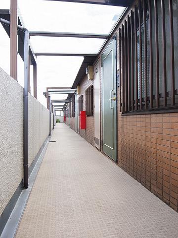 クレッセント尾山台 外廊下