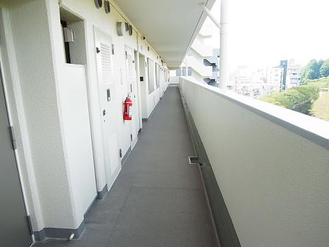 フジタ関口マンション 廊下