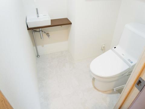 原宿第8宮庭マンション トイレ