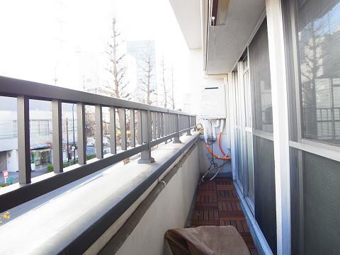 原宿第8宮庭マンション バルコニー