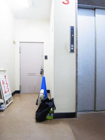 原宿第8宮庭マンション 内廊下