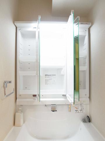 GSハイム築地 洗面台