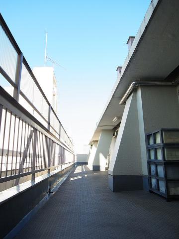 原宿グリーンハイツ 外廊下