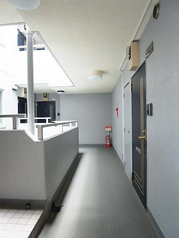 セザール豪徳寺 外廊下