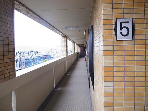 ヴェラハイツ洗足 共有廊下