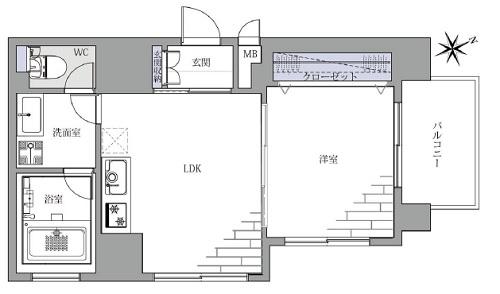 募集中 1101号室(1LDK/35.85㎡)4,999万円