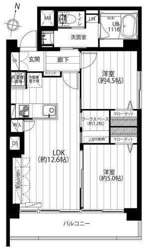 募集中 201号室(2LDK/50.85㎡)3,599万円