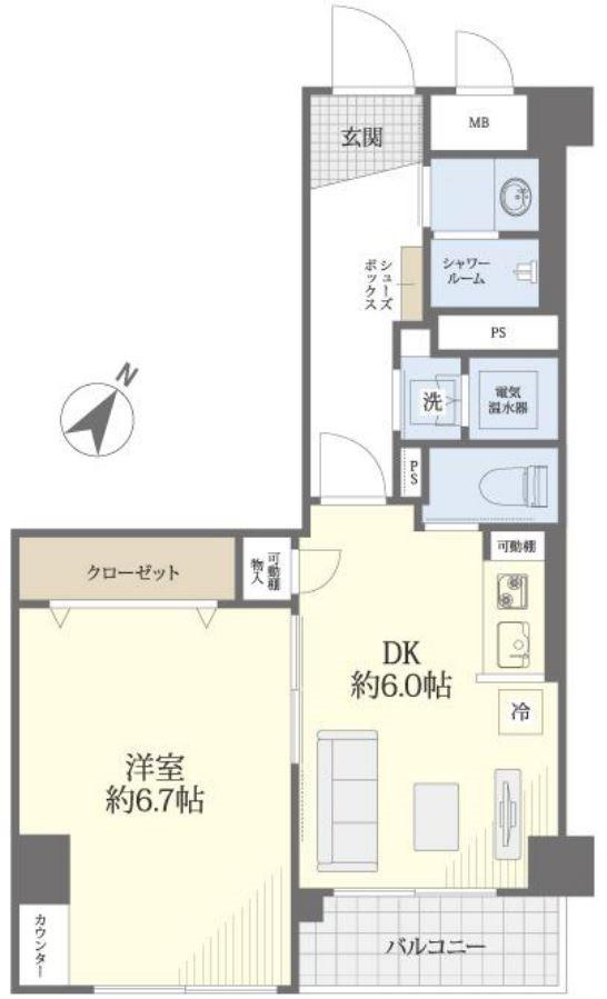 募集中 704号室(1DK/33.97㎡)3,480万円【PRICE DOWN】