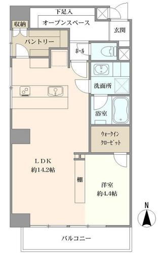 募集中 304号室(1LDK/47.86㎡)4,480万円
