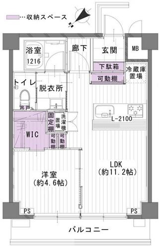 募集中 511号室(1LDK/39.60㎡)4,180万円