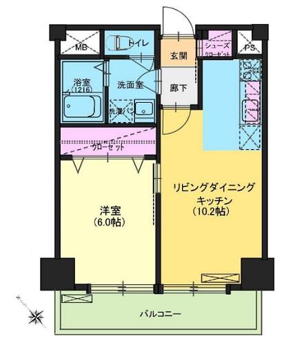 募集中 903号室(1LDK/39.70㎡)4,380万円