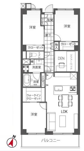 募集中 812号室(3LDK/79.80㎡)6,780万円