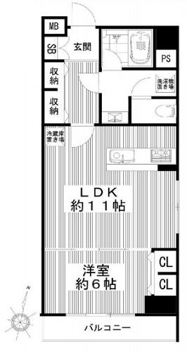 募集中 803号室(1LDK/43.33㎡)3,499万円【PRICE DOWN】