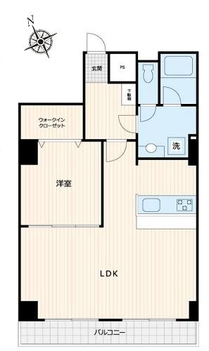募集中 506号室(1LDK/57.79㎡)5,280万円
