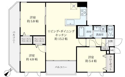 募集中 201号室(3LDK/64.92㎡)4,880万円