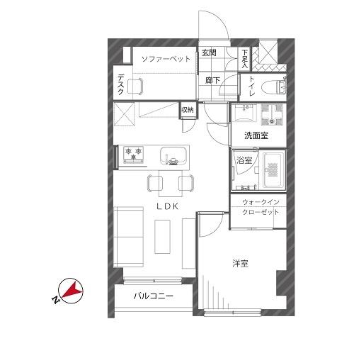 募集中 205号室(1SLDK/41.45㎡)3,680万円【PRICE DOWN】