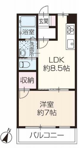 募集中 502号室(1LDK/41.32㎡)2,298万円【PRICE DOWN】
