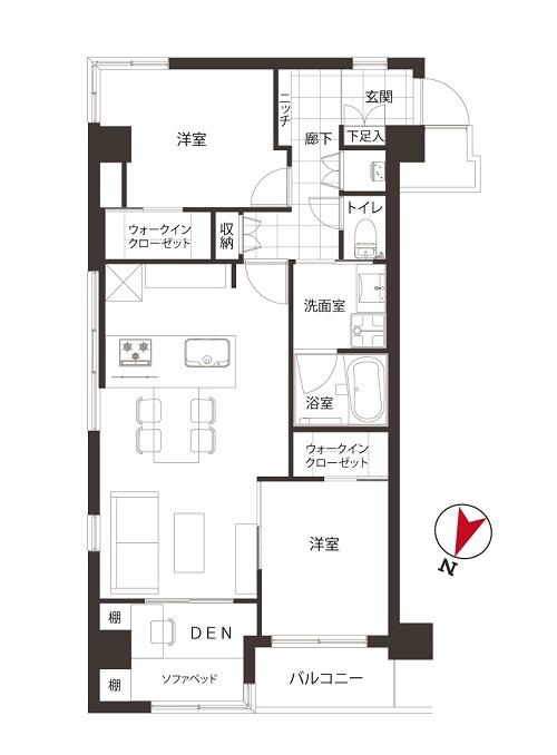 募集中 303号室(3LDK/67.44㎡)5,980万円