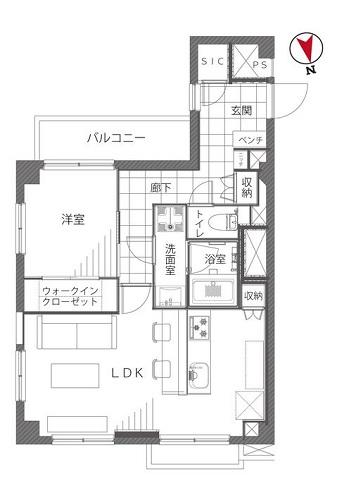 募集中 506号室(1LDK/48.70㎡)3,480万円