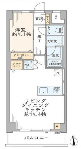 募集中 603号室(1LDK/43.70㎡)4,280万円
