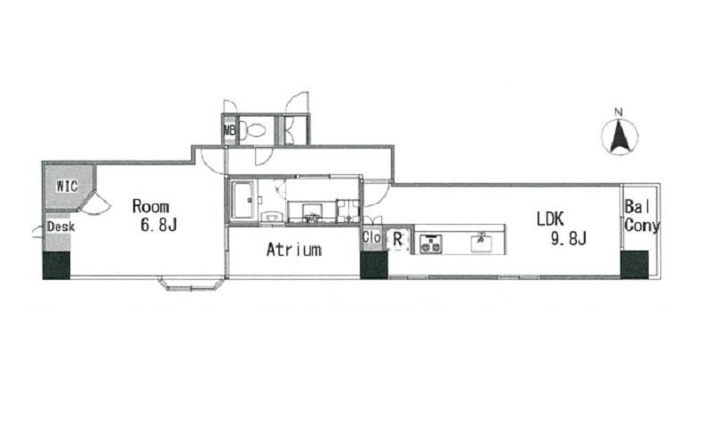 募集中 403号室(1LDK/56.75㎡)3,980万円