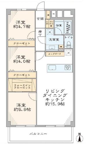 募集中 205号室(3LDK/71.92㎡)6,380万円